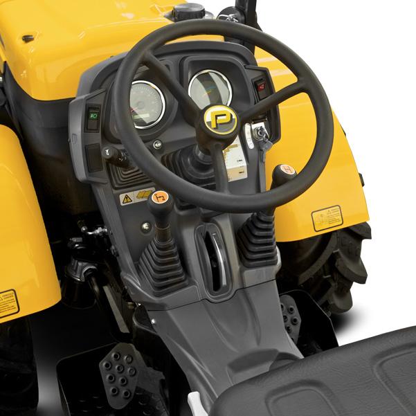 Mandos del tractor PASQUALI Siena 5.30-5.40 AR