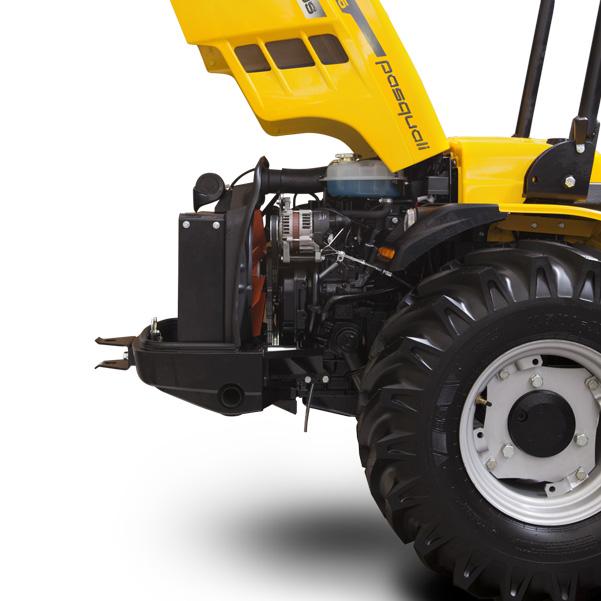 Motor del tractor PASQUALI Eos 5.65