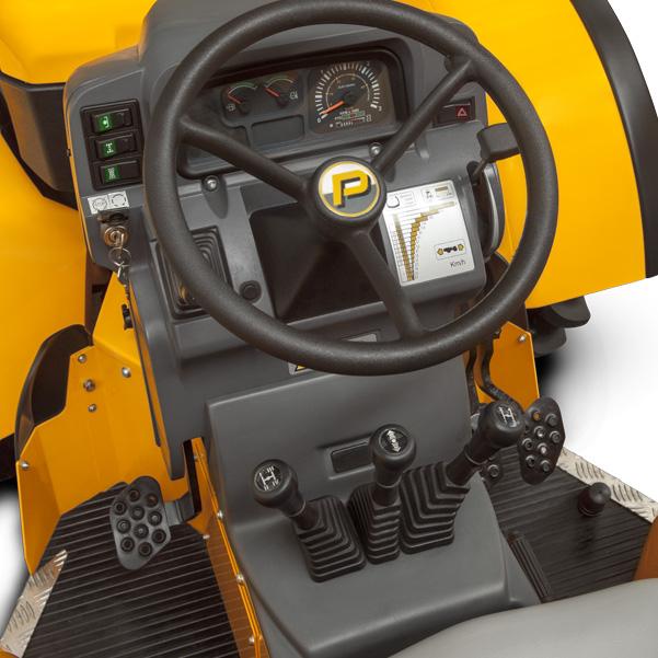 Mandos del tractor PASQUALI Orion 7.75-7.85-7.95 DS